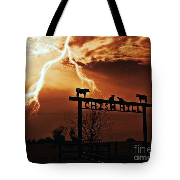 Chism Hill Tote Bag