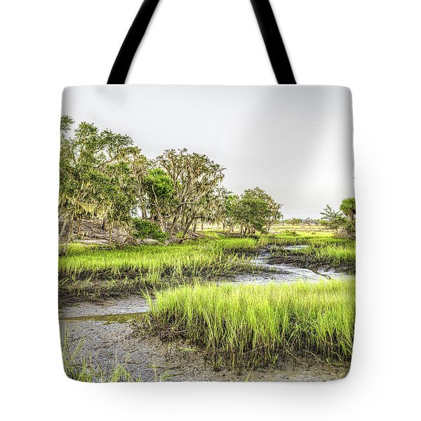 Chisolm Island - Low Tide Tote Bag
