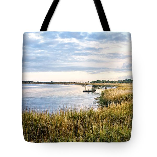 Chisolm Island Shoreline  Tote Bag