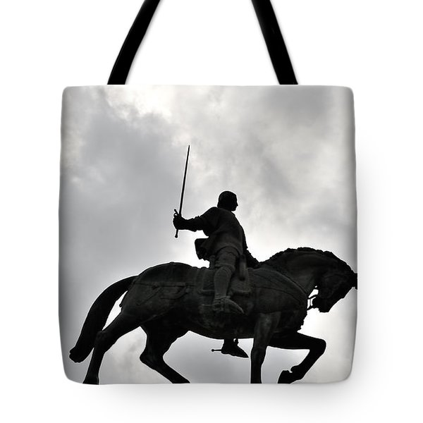 Chivalry Tote Bag by Marwan Khoury
