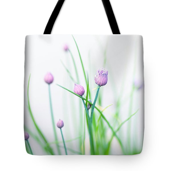 Chives 1 Tote Bag by Rebecca Cozart