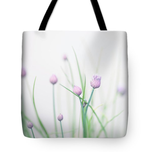 Chives 2 Tote Bag by Rebecca Cozart