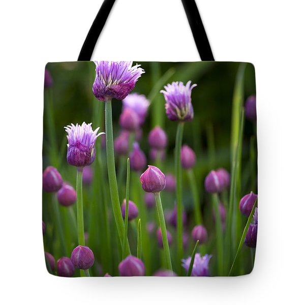 Chives Tote Bag by Patrick Downey