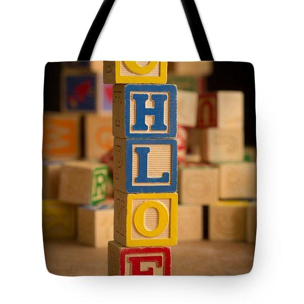 Chloe - Alphabet Blocks Tote Bag