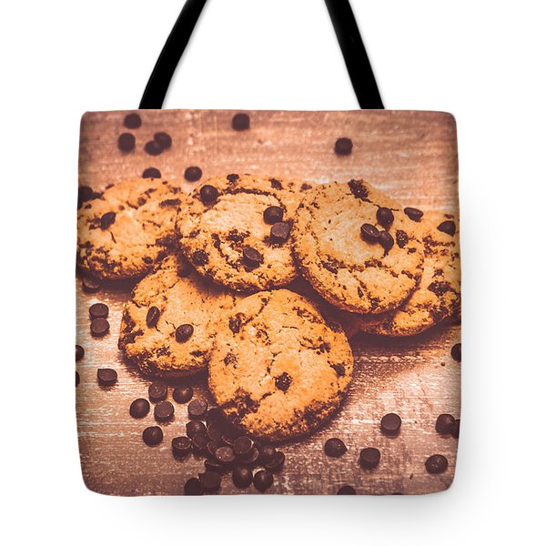 Choc Chip Biscuits Tote Bag
