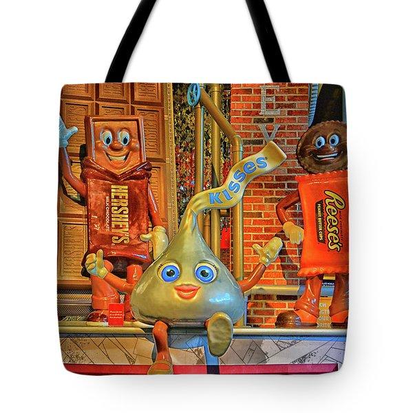 Chocaholics Unite Tote Bag