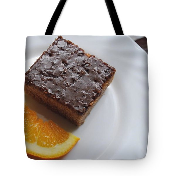 Chocolate And Orange Tote Bag
