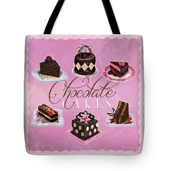 Chocolate Cakes Tote Bag