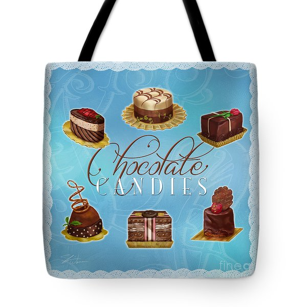 Chocolate Candies Tote Bag