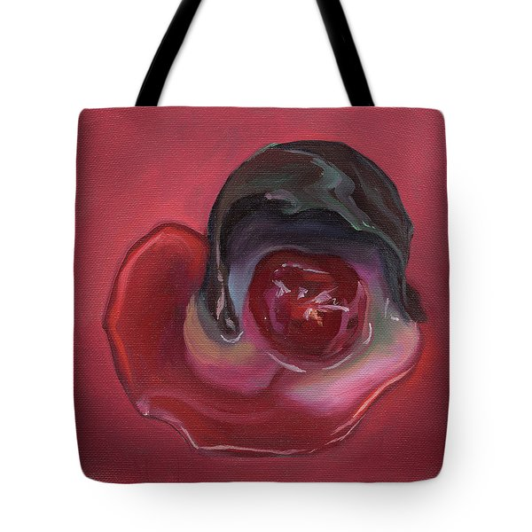 Chocolate Covered Cherry Tote Bag