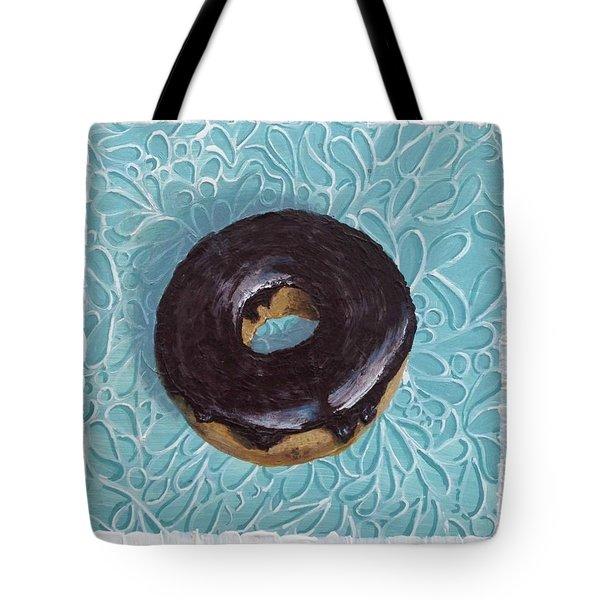Chocolate Glazed Tote Bag