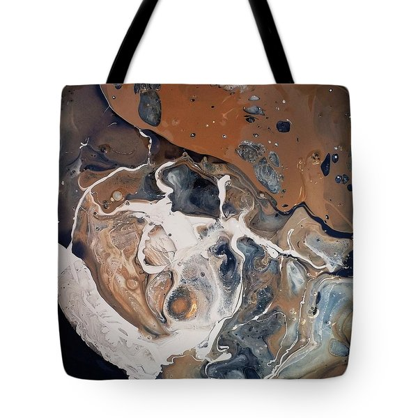 Chocolate Ice Cream Vulture Beek Tote Bag
