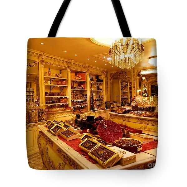 Chocolate Shop Tote Bag