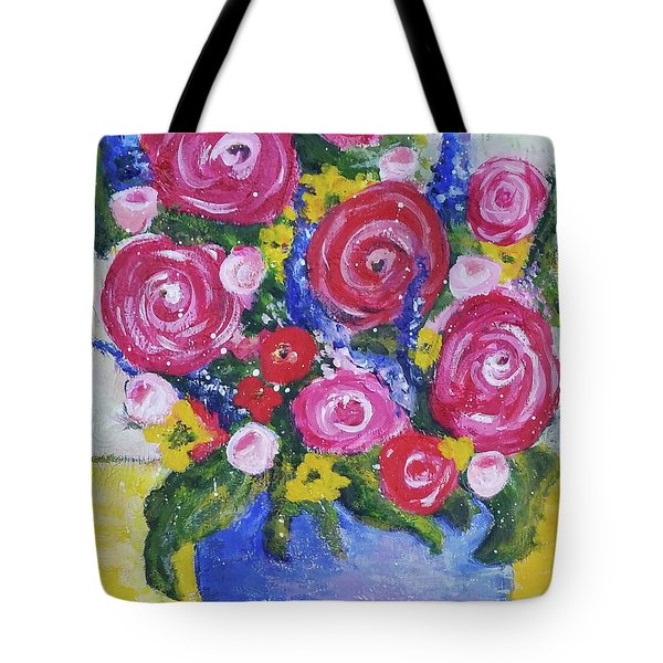 Choice Bouquet Tote Bag