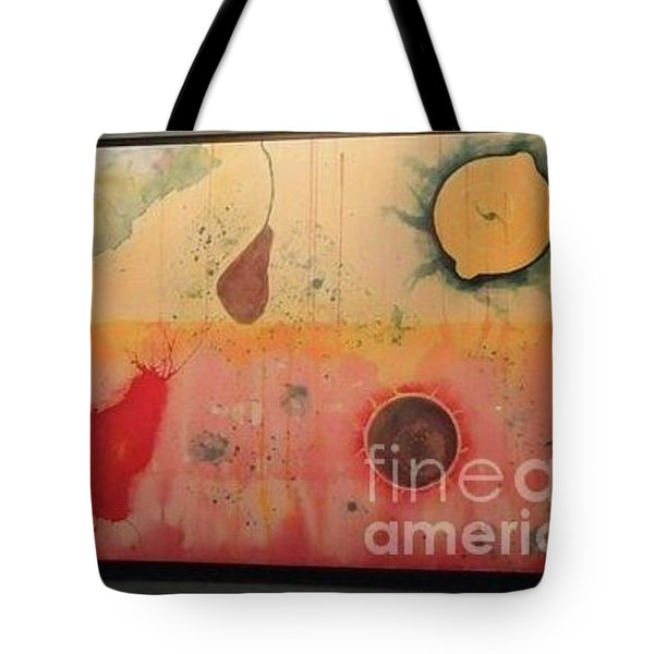 Tote Bag featuring the painting Choking by Xn Tyler