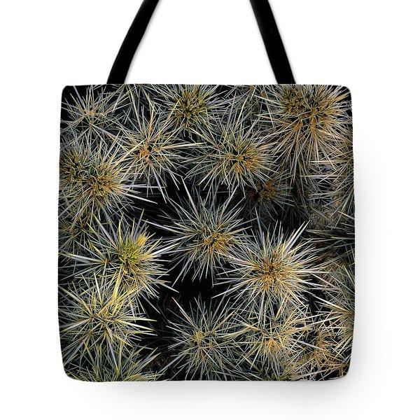 Cholla Cactus Cluster Tote Bag