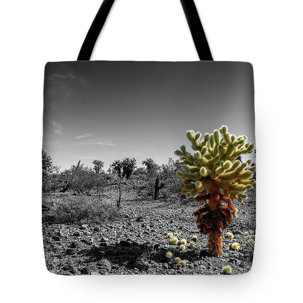 Cholla Cactus Tote Bag