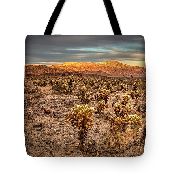 Cholla Garden Tote Bag by Peter Tellone