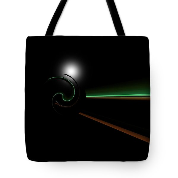 Tote Bag featuring the digital art Chompeters by Andrew Kotlinski