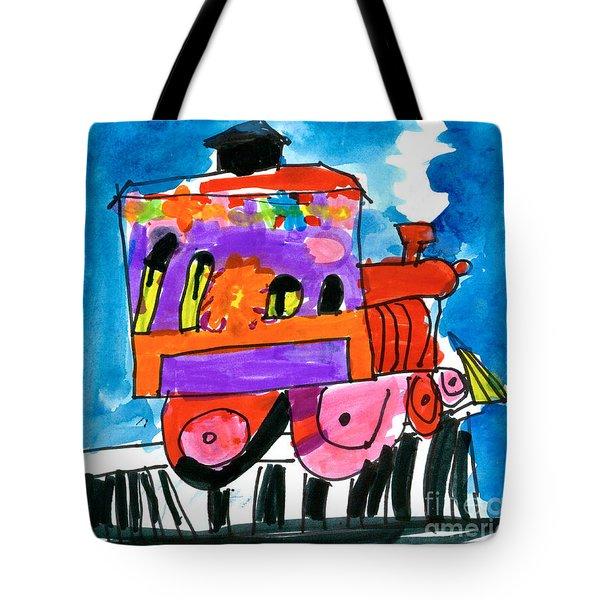 Choochoo Train Tote Bag