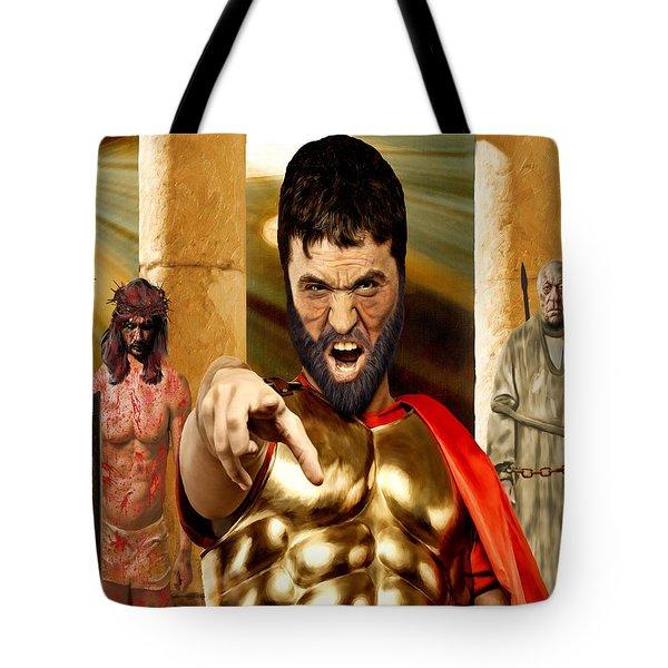 Choose  Tote Bag by Mark Allen
