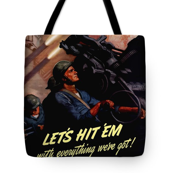 Choose The Navy -- Ww2 Tote Bag