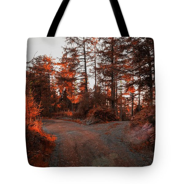 Choose The Road Less Travelled Tote Bag