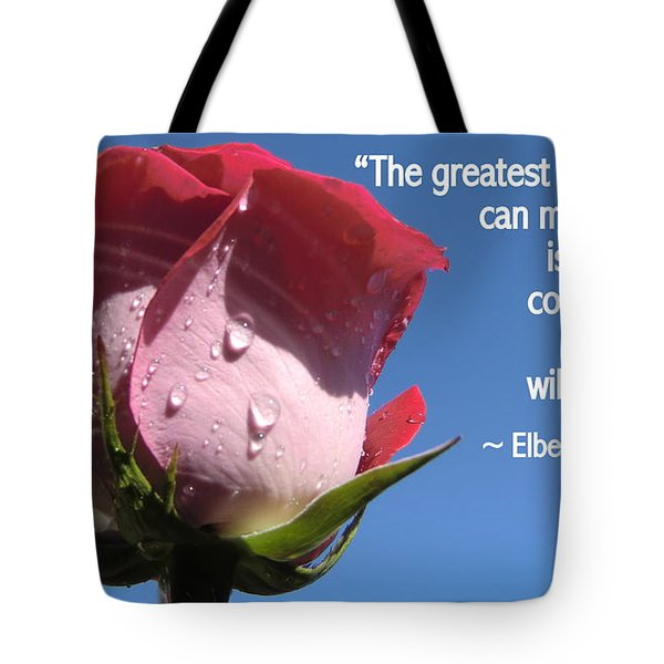 Choose Your Quote Choose Your Picture 24 Tote Bag