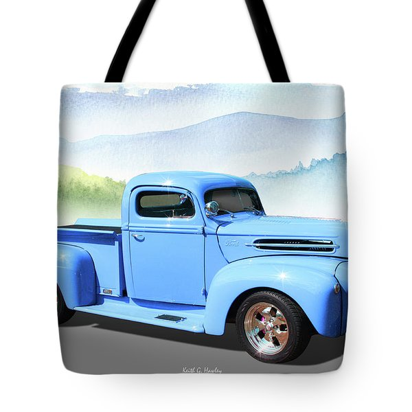 Chop Top Pickup Tote Bag
