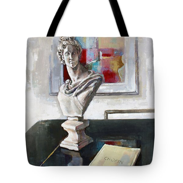 Chopin Tote Bag by Becky Kim