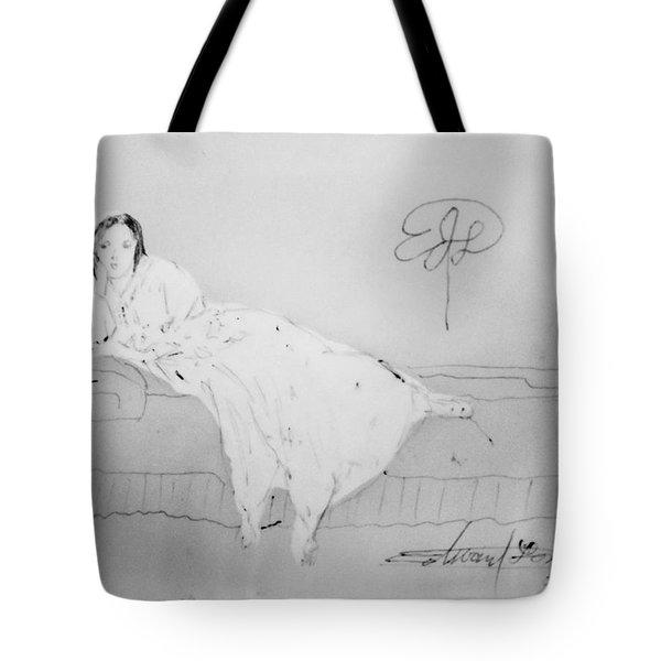 Chopin's Woman Tote Bag