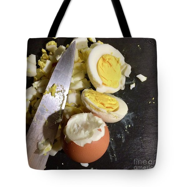 Tote Bag featuring the photograph Chopped by Kim Nelson
