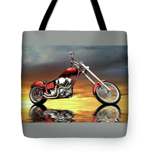 Chopper Tote Bag