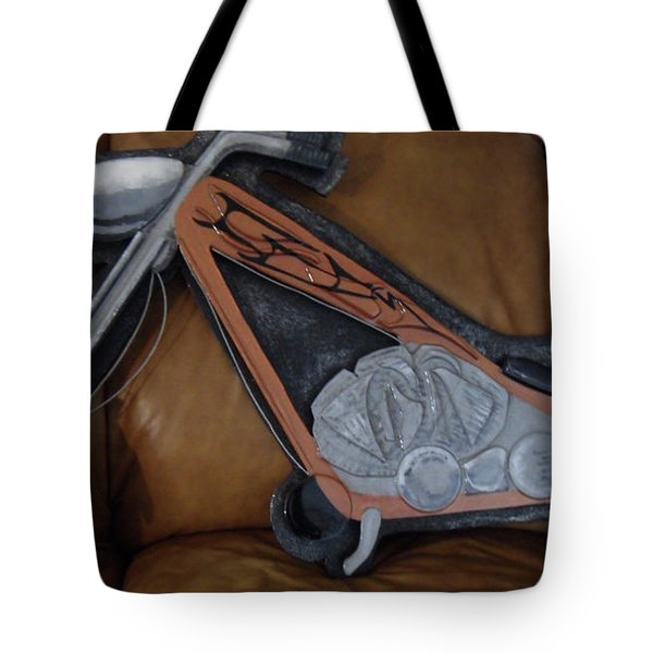 Chopper Tote Bag