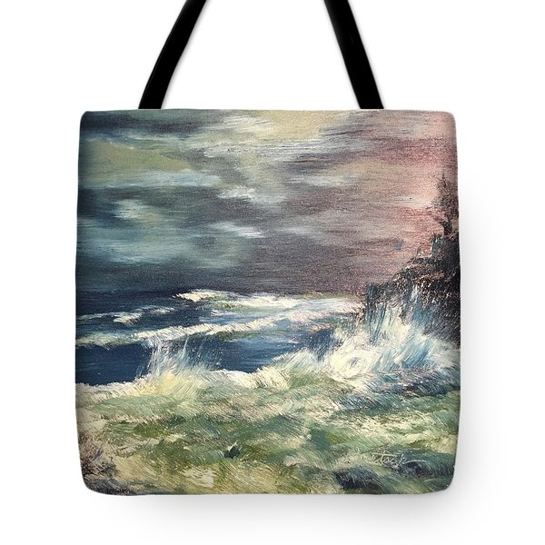 Choppy Seas 1 Tote Bag