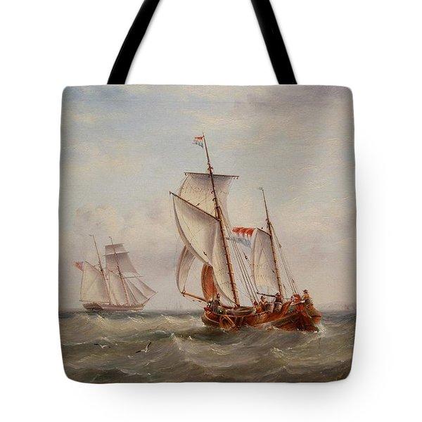 Choppy Waters Tote Bag