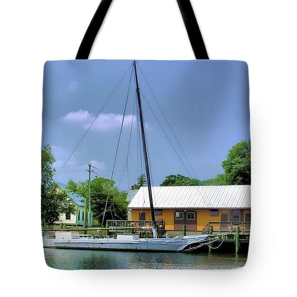 Choptank River Tote Bag by Brian Wallace