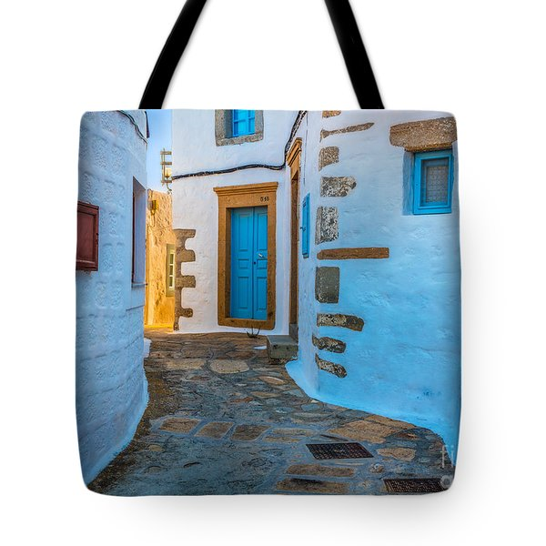 Chora Alley Tote Bag