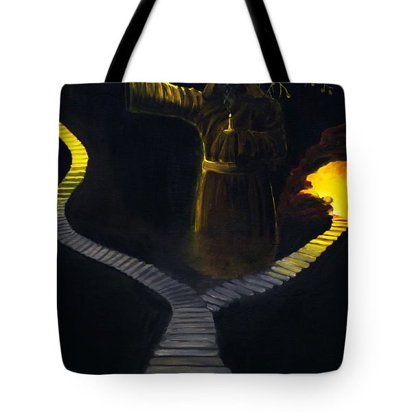 Chosen Path Tote Bag by Brian Wallace