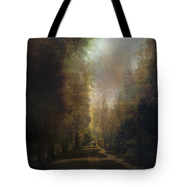 Tote Bag featuring the photograph Chosen Path  by John Rivera