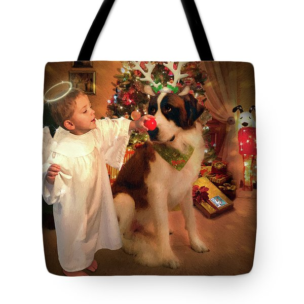 Chris And Bern Tote Bag