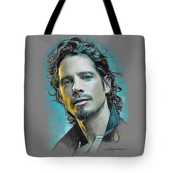 Chris Cornell Tote Bag
