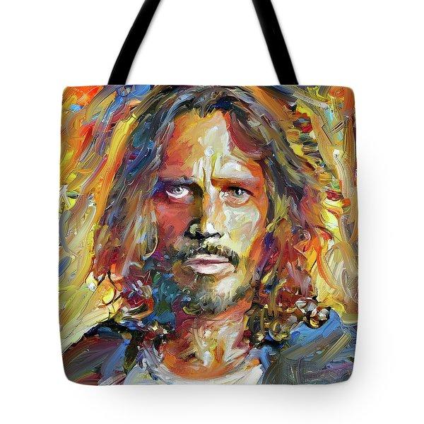 Chris Cornell Tribute 2017 Portrait Tote Bag