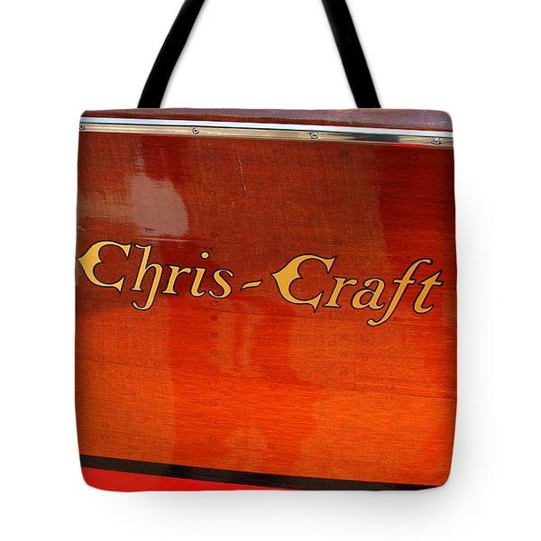 Chris Craft Logo Tote Bag