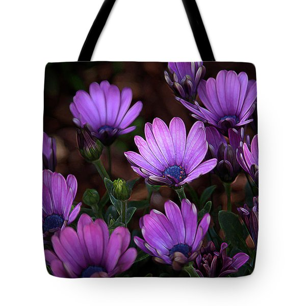 Tote Bag featuring the digital art Morning Stretch by Stuart Turnbull