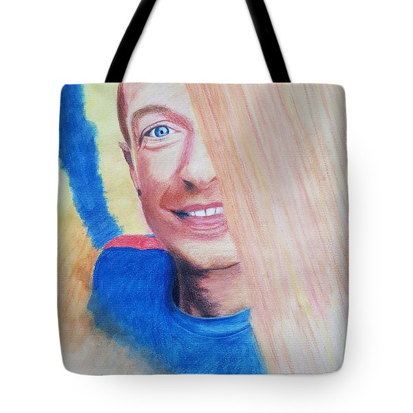 Chris Martin Tote Bag