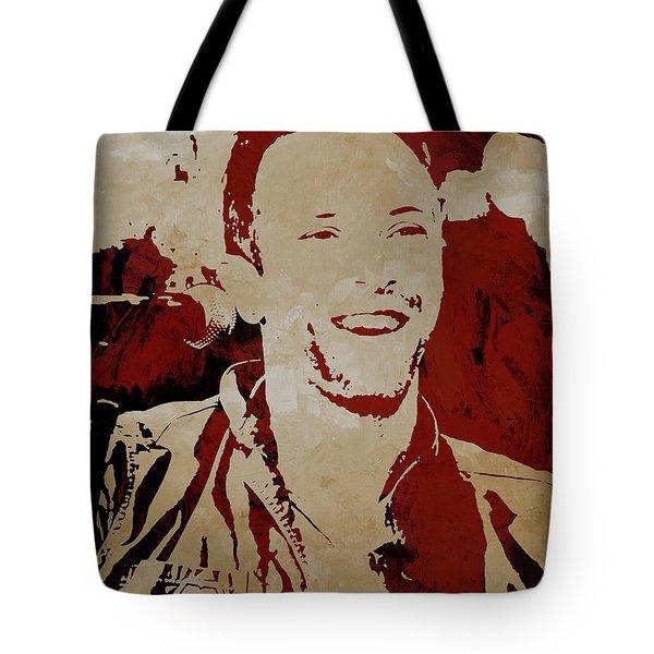 Chris Martin Coldplay Tote Bag