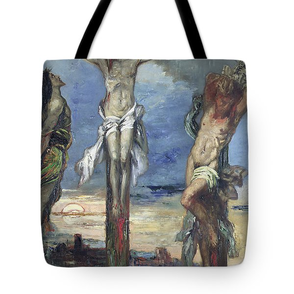 Christ Between The Two Thieves Tote Bag