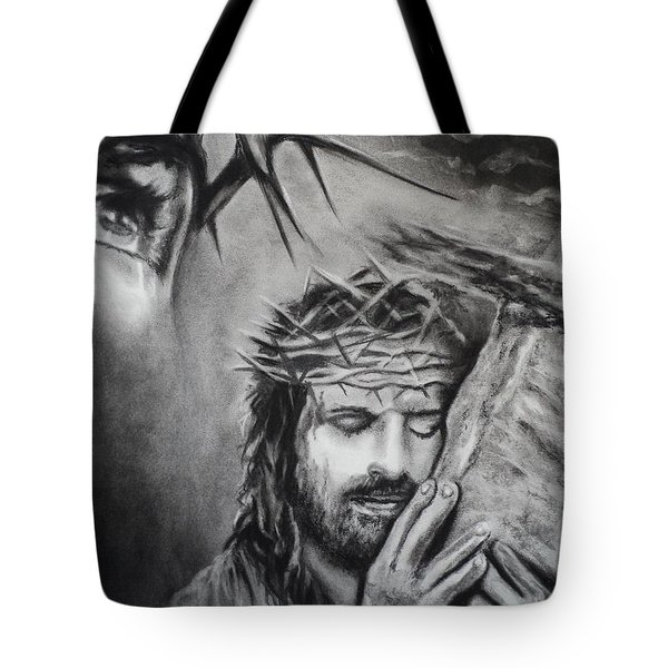 Christ Tote Bag by Carla Carson