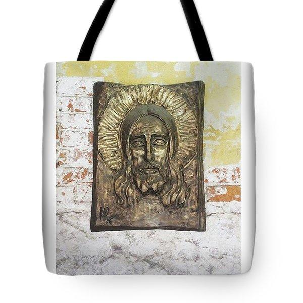 #christ #christians #religion #face Tote Bag